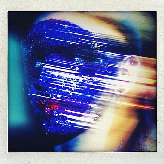Blink and you missed Givenchy's crystal masks whizzing by on the runway. Fortunately, Laura Brown didn't miss.  Source: Instagram user laurabrown99