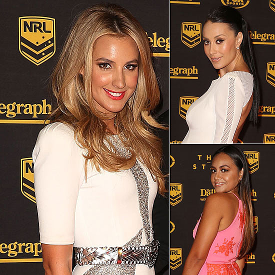 NRL's Most Beautiful WAGs Hit the Red Carpet For the Dally M Awards