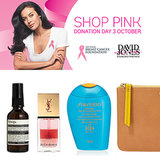 2013 Shop Pink Donation Day: Weekend Beauty David Jones