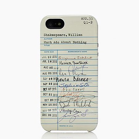 Kate Spade Library iPhone Cases