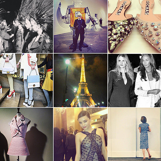 Say Au Revoir to Paris With Fashion Week's Best Instagrams