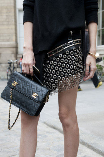 Nothing like a little Chanel to lend some luxe.