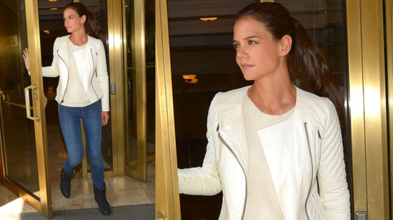Katie Holmes Shops Kohl's — Buy Her Jacket Now!