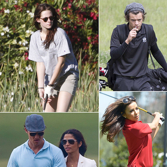It's National Golf Day — See Celebrities on the Links!