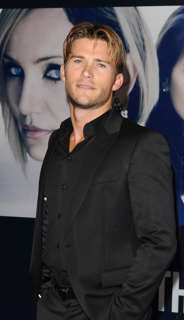 Scott Eastwood showed up for The Counselor's London premiere.