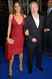 Director Ridley Scott attended the UK premiere of The Counselor with Giannina Facio.