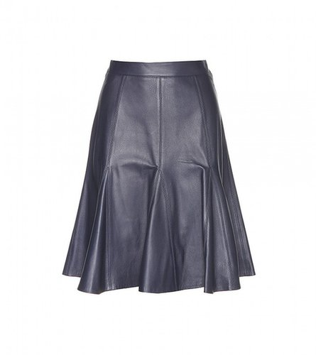 Erdem MICHAELA LEATHER SKIRT