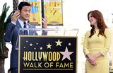 Joseph Gordon-Levitt spoke about Julianne Moore at her Hollywood Walk of Fame ceremony.