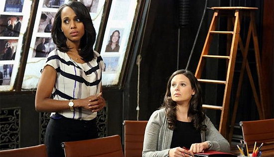 Scandal Star Katie Lowes Gives Hints About the Season-Three Premiere!
