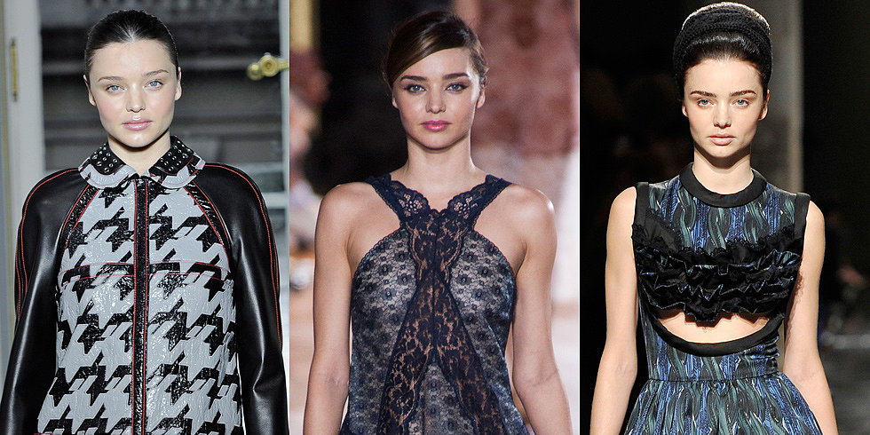 Miranda Kerr's Most Memorable Runway Struts