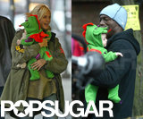 Heidi Klum and Seal took Leni out for her first Halloween in NYC in 2004.