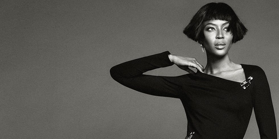 Naomi Campbell Goes Punk For Net-a-Porter
