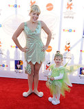 Busy Philipps and Birdie Silverstein made two very cute Tinker Bells for Halloween in 2010.