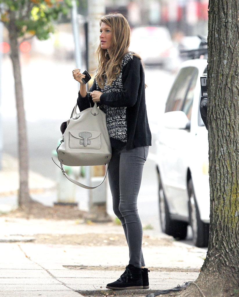 Gisele Bündchen was running errands in Boston on Friday.