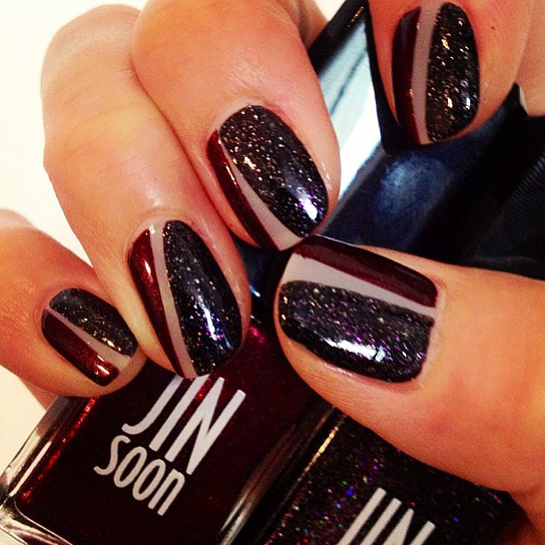 Jin Soon Choi shows us an incredible nail art look for Fall. Source: Instagram user jinsoonchoi