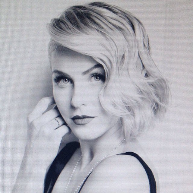 Is that Marilyn Monroe . . . or Julianne Hough? Source: Instagram user juleshough