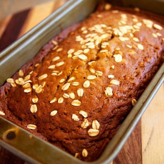 Fall Just Got Healthier: Oatmeal Pumpkin Spice Bread