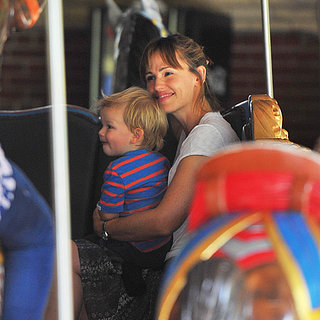 Jennifer Garner in Central Park With Kids