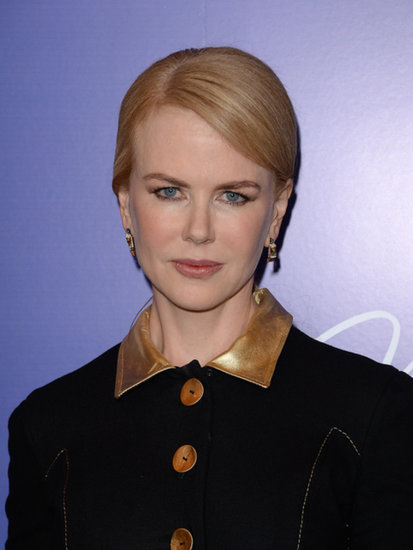 Elegance was the name of the game for Nicole Kidman, who swept her hair into a sideswept updo.