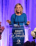 Amy Poehler spoke at the Power of Women event.