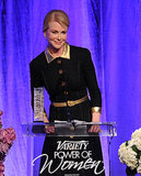 Nicole Kidman accepted her award.