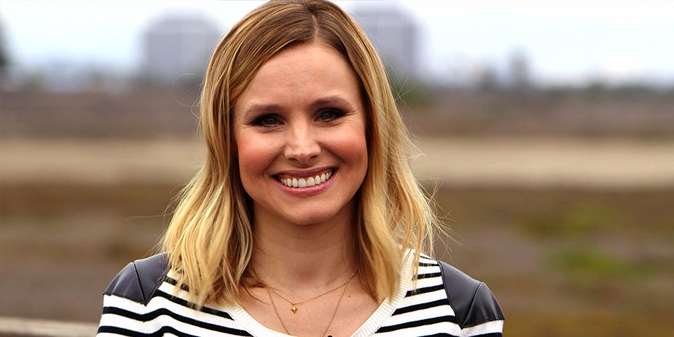 """Kristen Bell Gives Us Straight Talk on Marriage, Veronica Mars, and Her Adorable """"Blob"""" Lincoln"""
