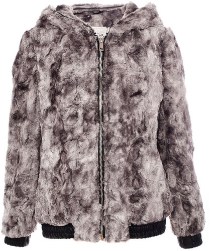 Jacket With Fur Detail On Hood