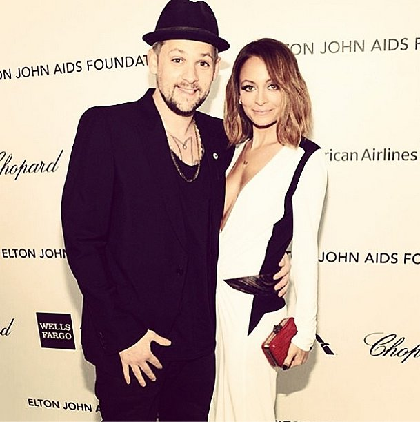 This couple always looks stylish! Source: Instagram user nicolerichie