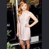 Carrie who? Chloë Moretz sweetend things up in pink. Source: Instagram user cmoretz