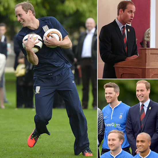 Prince William Brings Soccer to Buckingham Palace
