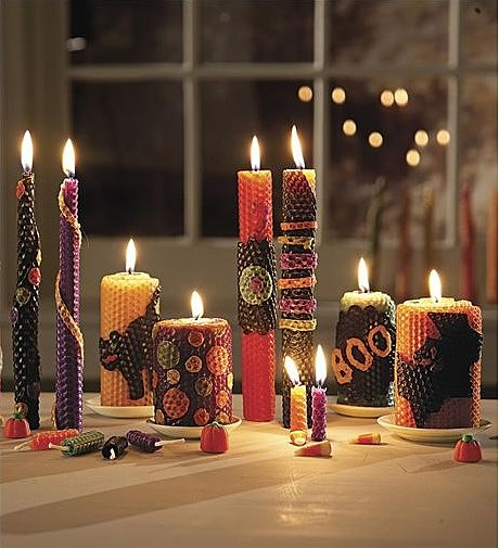 Autumn Homemade Beeswax Candle Rolling Kit