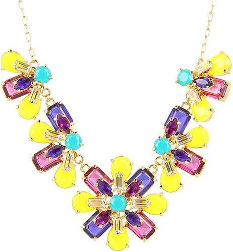 Kate Spade New York - Kaleidoscope Floral Statement Necklace (Multi) - Jewelry