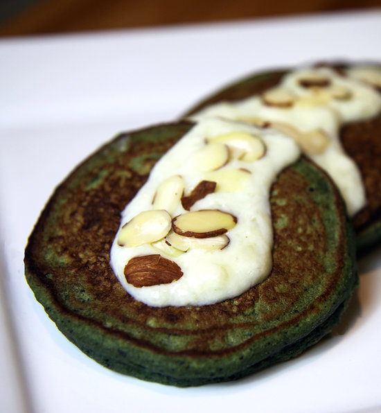 Healthy Pancake Recipe With Spinach Blueberry & Banana | POPSUGAR ...