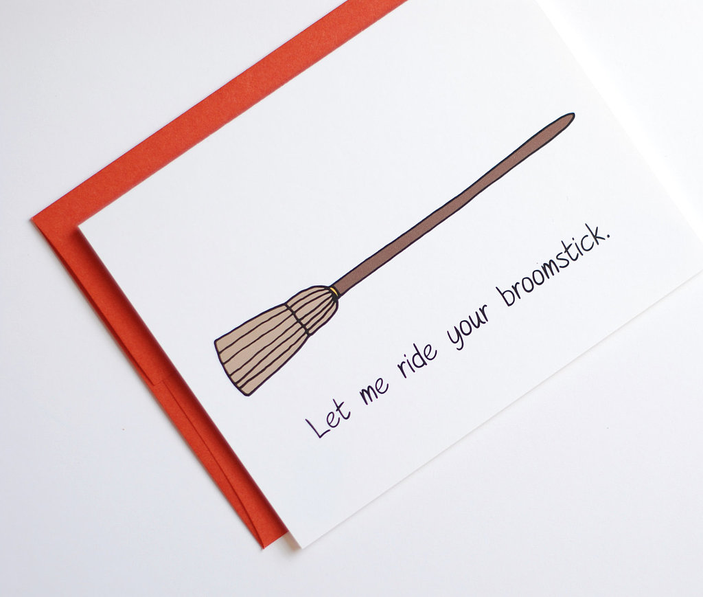 Let me ride your broomstick  ($4)