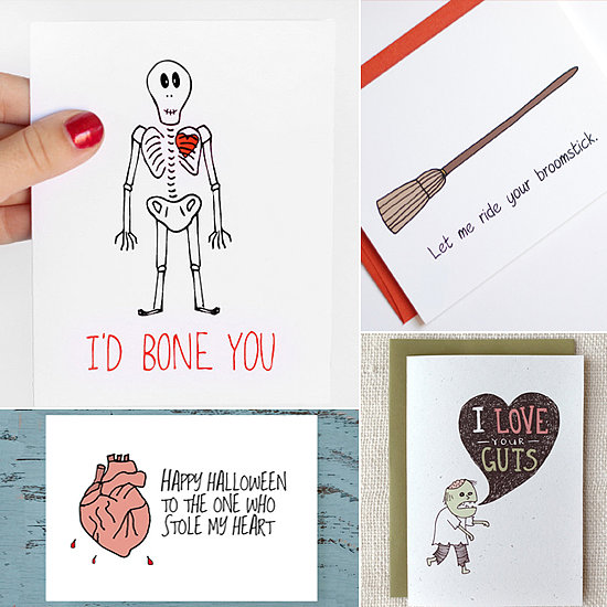 """Bite Me,"" and Other Halloween Cards For Your Boo"