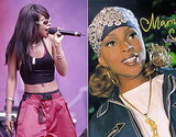 Mary J. Blige and Aaliyah