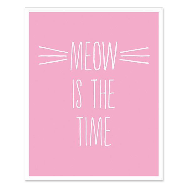 Motivational Cat Print