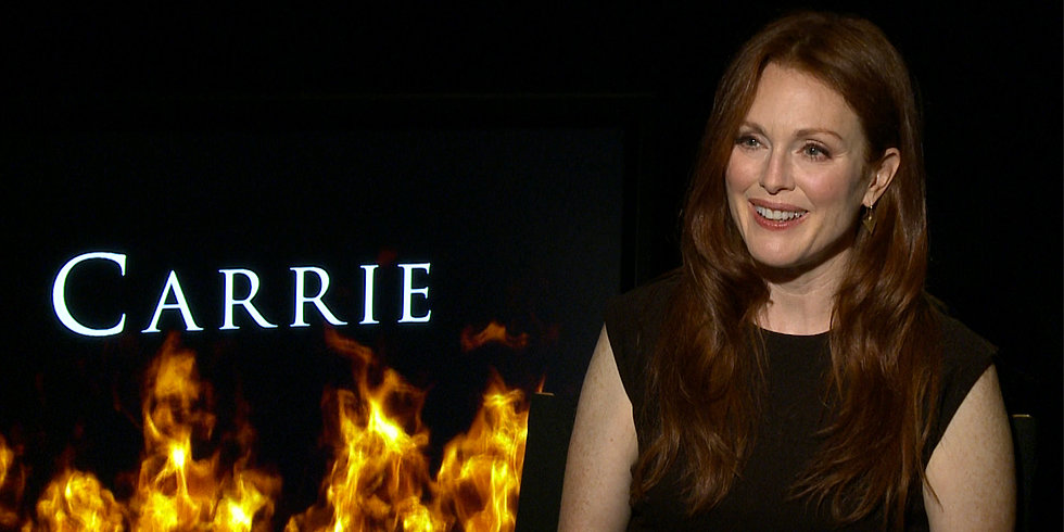 Julianne Moore Talks Carrie and How Her Kids Introduced Her to The Hunger Games