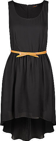 Dress with Bow Belt