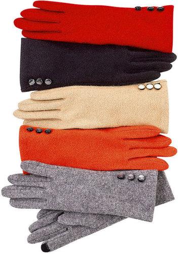 Lauren Ralph Lauren Gloves, Tech Touch Button