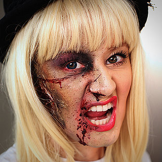 Celebrity Halloween Costumes: Taylor Swift Zombie Makeup