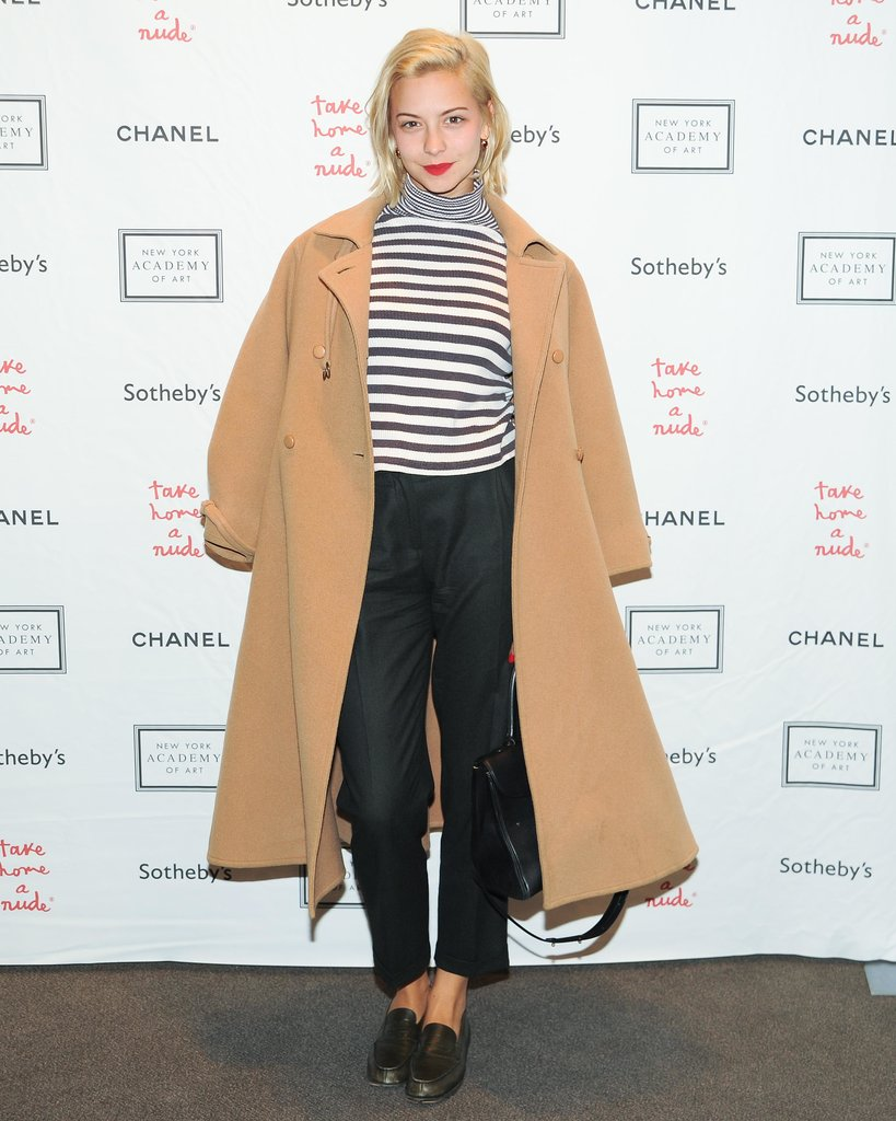 Annabelle Dexter-Jones layered crisp separates at Chanel's Sotheby's benefit.