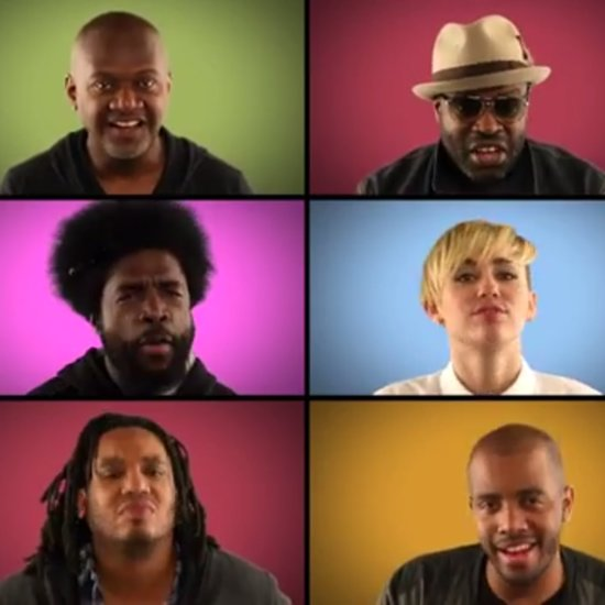 Miley Cyrus We Can't Stop With Jimmy Fallon and The Roots