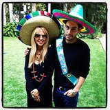 Rachel Zoe was in the mood for a fiesta while celebrating pal Joey Maalouf's birthday. Source: Instagram user rachelzoe