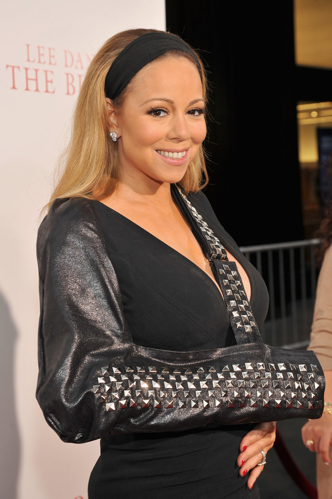 We saw wide, black headbands on the Spring 2014 runway, but Mariah Carey was rocking the trend long before it hit the catwalk.