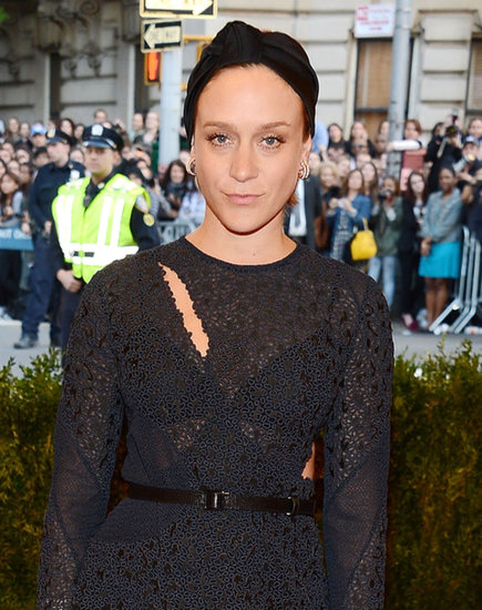Who says turbans aren't high fashion? Chloë Sevigny wore a black knotted headpiece to the Met Gala this year, proving that this hair accessory is appropriate for any occasion.