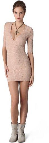 Nightcap clothing Deep Victorian Lace Dress