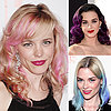Celebrities With Bright Coloured Hair