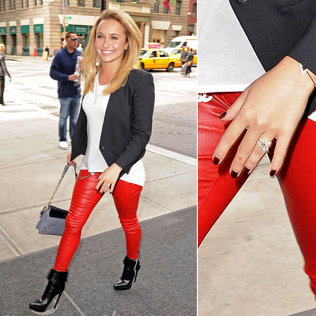 Celebrity Engagement Ring Pictures
