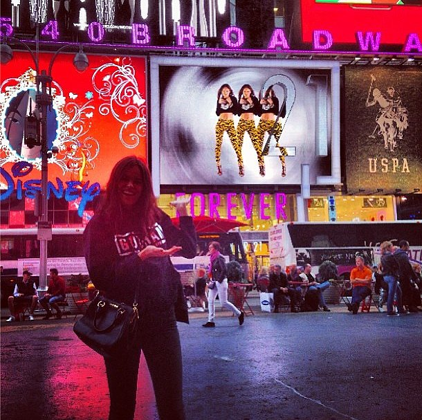 What's better than one Atlanta de Cadenet Taylor? How about four! Source: Instagram user atlantabean